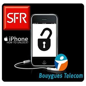 Разкодиране iPhone от SFR и Bouygues Telecom