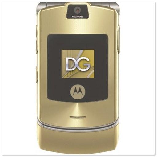 Motorola RAZR V3i DOLCE & GABBANA