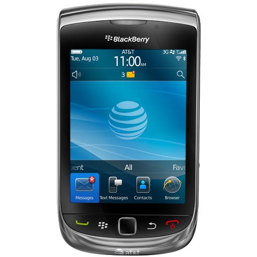 BlackBerry 9800 Black