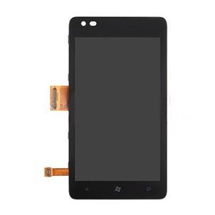 LCD дисплей за Nokia 900 Lumia + тъч скрийн