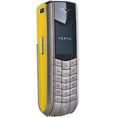 Nokia Vertu Ascent Yellow Leahter