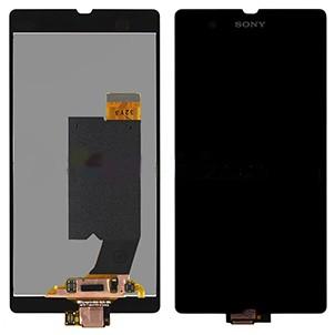 LCD + Touch Sony LT36i - Xperia Z Черен