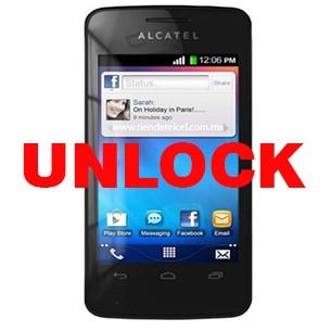 Разкодиране Alcatel 4010 T POP