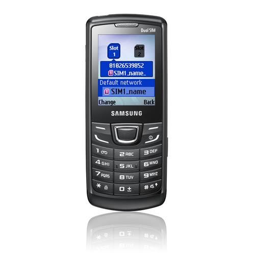 Samsung E1252 Dual SIM