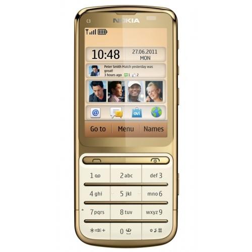 Nokia C3-01Gold Edition